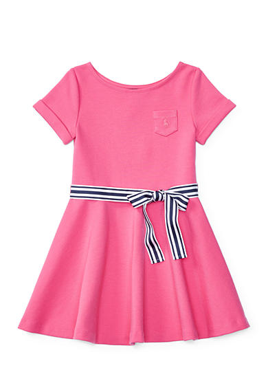 Ralph Lauren Childrenswear Ponte Fit-and-Flare Dress Girls 4-6x