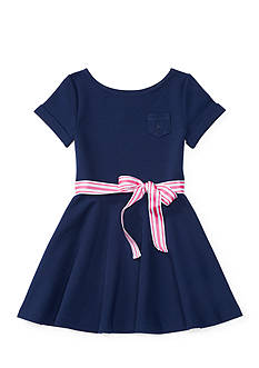 Ralph Lauren Childrenswear Ponte Fit-and-Flare Dress Girls 4-6x