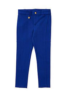 Ralph Lauren Childrenswear Knit Cotton-Blend Pant Girls 4-6x