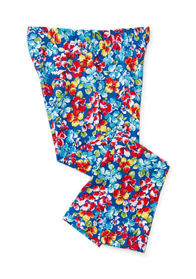 Ralph Lauren Childrenswear Floral Jersey Legging Girls 4-6x