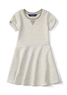 Ralph Lauren Childrenswear Terry Fleece Dress Girls 4-6x