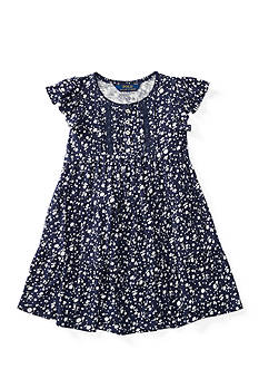 Ralph Lauren Childrenswear Floral Cotton Swing Dress Girls 4-6x
