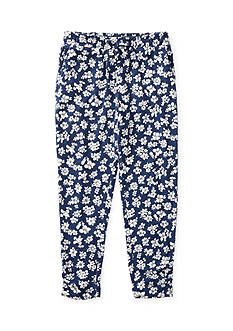 Ralph Lauren Childrenswear Floral Cotton Jersey Pant Girls 4-6x
