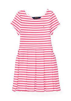 Ralph Lauren Childrenswear Ponte Stripe Dress Girls 4-6x