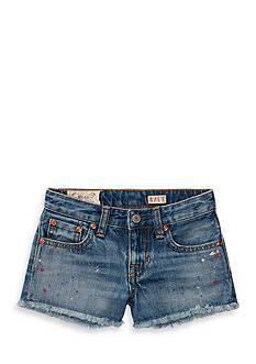 Ralph Lauren Childrenswear Paint Splatter Short Girls 4-6X