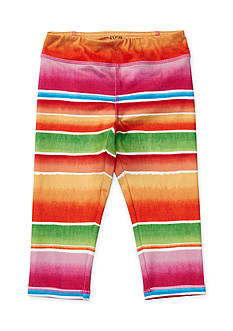 Ralph Lauren Childrenswear Stripped Pattern Legging Girls 4-6x