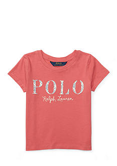 Ralph Lauren Childrenswear Polo Cotton Jersey Graphic Tee Girls 4-6x