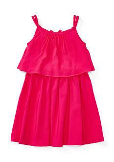 Ralph Lauren Childrenswear Drapey Jersey Dress Girls 4-6x