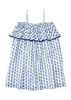 Ralph Lauren Childrenswear Paisley Paint Maxi Dress Girls 4-6x