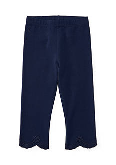 Ralph Lauren Childrenswear Eyelet Leggings Girls 4-6X
