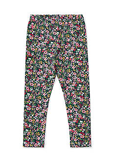 Ralph Lauren Childrenswear Cotton Jersey Floral Leggings Girls 4-6x