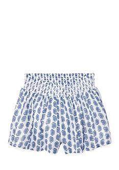 Ralph Lauren Childrenswear Paisley Print Short Girls 4-6x