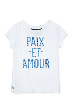 Ralph Lauren Childrenswear Graphic Tee Girls 4-6X