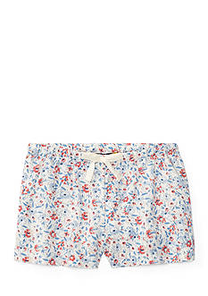 Ralph Lauren Childrenswear Floral Shorts Girls 4-6x