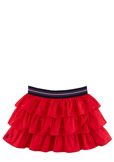 Ralph Lauren Childrenswear Tiered Ruffle Skirt Girls 7-16