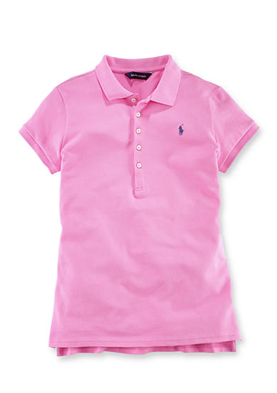 Ralph Lauren Childrenswear Short Sleeve Polo Girls 7-16