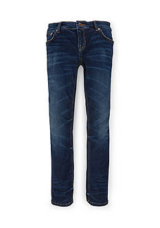 Ralph Lauren Childrenswear Jemma Skinny Lucia Wash Jeans Girls 7-16