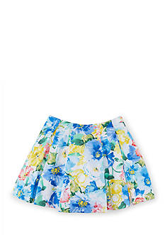Ralph Lauren Childrenswear Pleated Floral Skirt Girls 7-16