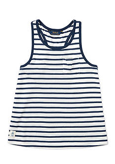 Ralph Lauren Childrenswear Stripe Tank Girls 7-16