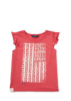 Ralph Lauren Childrenswear Jersey Graphic Tee Girls 7-16