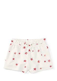 Ralph Lauren Childrenswear French Terry Star Shorts Girls 7-16