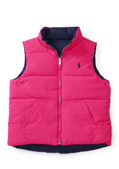 Ralph Lauren Childrenswear Reversible Down Vest