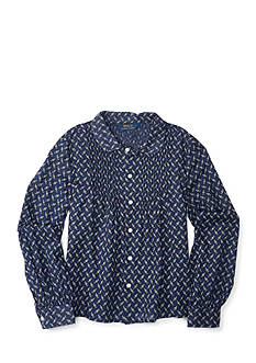 Ralph Lauren Childrenswear Floral Shirt Girls 7-16