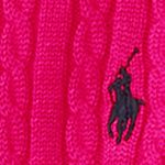 Baby & Kids: Long Sleeve Sale: Sport Pink Ralph Lauren Childrenswear Cable Knit Sweater Girls 7-16