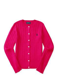 Ralph Lauren Childrenswear Cable Knit Sweater Girls 7-16