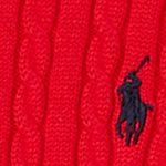 Tan/khaki Girls Clothing 7-16: Ultra Red Ralph Lauren Childrenswear Cable Knit Sweater Girls 7-16