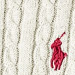 Baby & Kids: Long Sleeve Sale: Classic Cream Ralph Lauren Childrenswear Cable Knit Sweater Girls 7-16