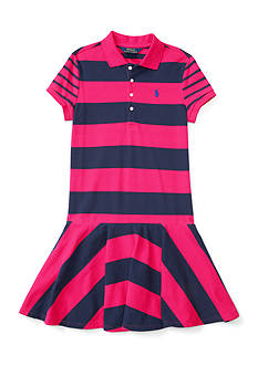 Ralph Lauren Childrenswear Stretch Mesh Mix and Match Dress - Girls 7-16