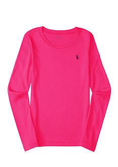 Polo Ralph Lauren Pima-Blend Long-Sleeve Tee Girls 7-16