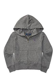 Ralph Lauren Childrenswear Cotton-Blend-Terry Hoodie Girls 7-16
