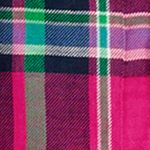 Girls Shirts: Pink/Green Multi Ralph Lauren Childrenswear Featherweight Twill Plaid Shirt Girls 7-16