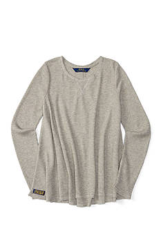 Ralph Lauren Childrenswear Waffle Top Girls 7-16
