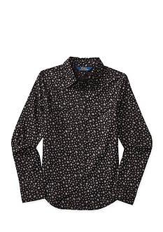 Ralph Lauren Childrenswear Floral Cotton Western Shirt Girls 7-16