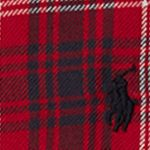 Multi Girls Clothing 7-16: Red/ Black Multi Ralph Lauren Childrenswear Plaid Flannel Shirt Dress Girls 7-16