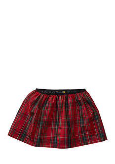 Ralph Lauren Childrenswear Plaid Taffeta Pull-On Skirt Girls 7-16