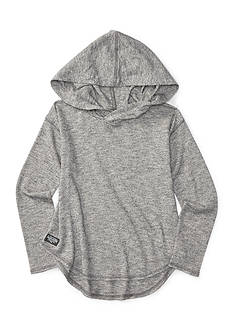 Ralph Lauren Childrenswear Cotton Long Sleeve Pull-Over Top with Hood Girls 7-16