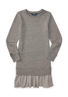 Ralph Lauren Childrenswear Atlantic Terry Fleece Dress