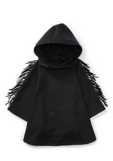 Ralph Lauren Childrenswear Fringed Ponte Hooded Poncho Girls 7-16