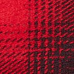 Baby & Kids: Long Sleeve Sale: Red/Black Ralph Lauren Childrenswear Plaid Cotton-Blend Pullover Girls 7-16