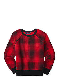 Ralph Lauren Childrenswear Plaid Cotton-Blend Pullover Girls 7-16