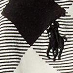 Girls Tights: Cream/ Black Ralph Lauren Childrenswear Buffalo Check Jersey Legging Girls 7-16