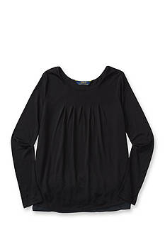 Ralph Lauren Childrenswear Double-Layered Jersey Top Girls 7-16