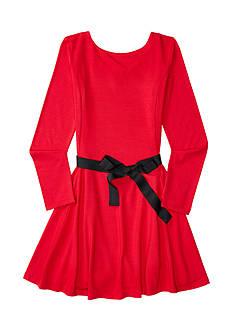 Ralph Lauren Childrenswear Jersey Long-Sleeve Dress Girls 7-16