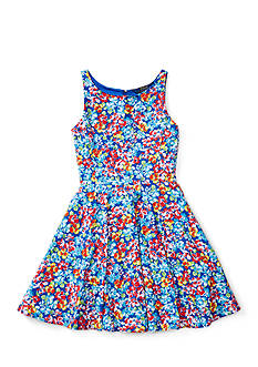 Ralph Lauren Childrenswear Floral Fit-and-Flare Dress Girls 7-16