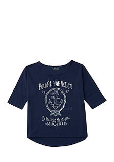 Ralph Lauren Childrenswear Graphic Tee Tops Girls 7-16