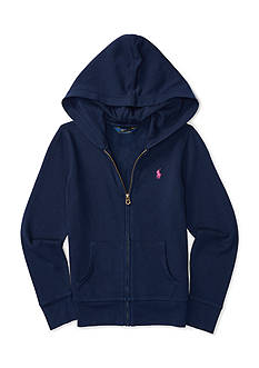 Ralph Lauren Childrenswear French Terry Full-Zip Hoodie Girls 7-16